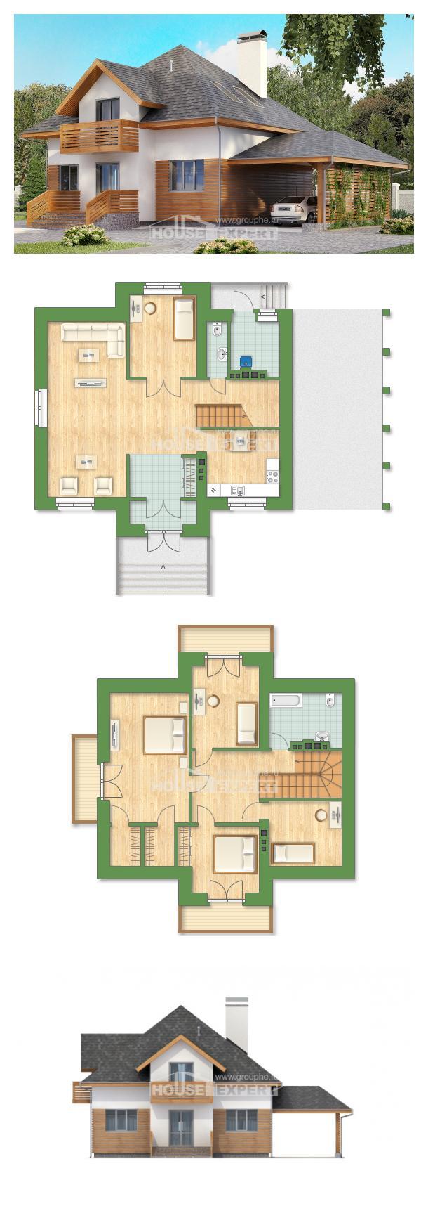Проект дома 155-004-П   House Expert